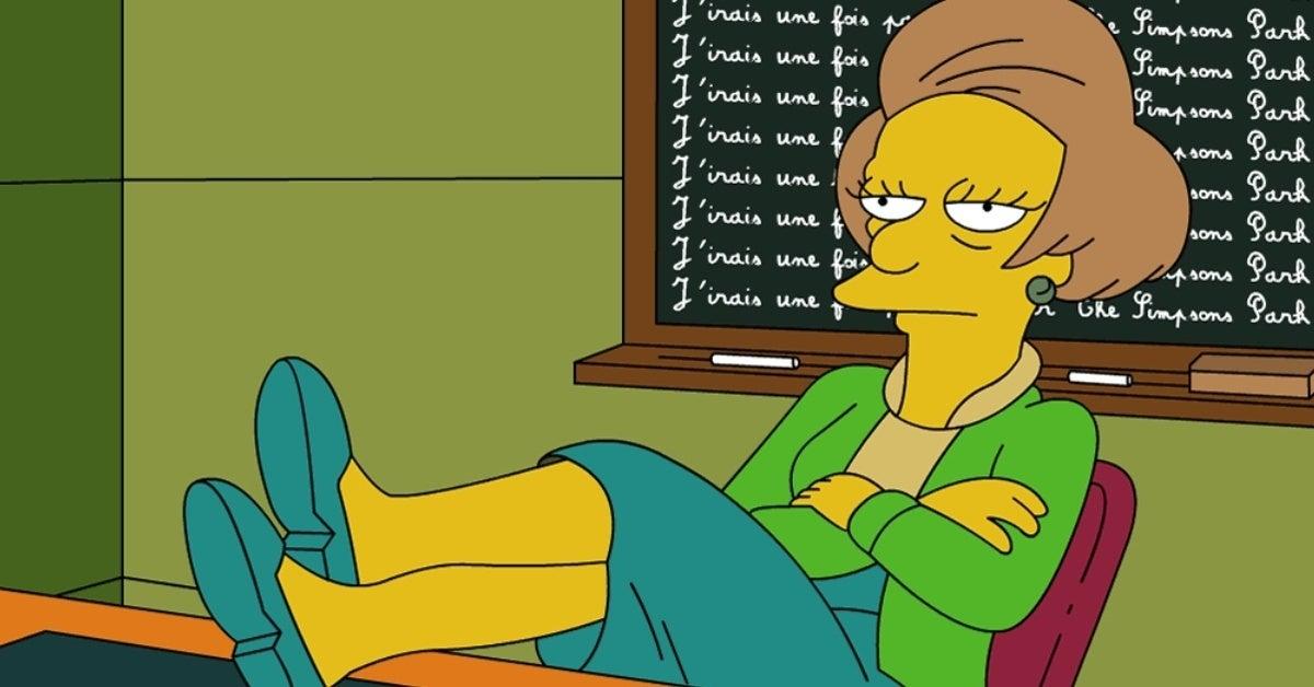 the simpsons mrs krabappel