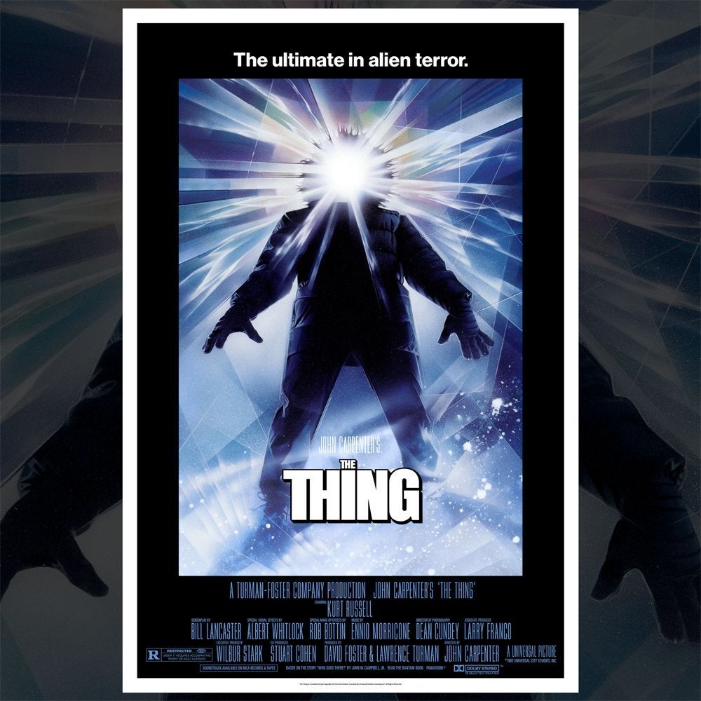 the thing poster drew struzan 3d print