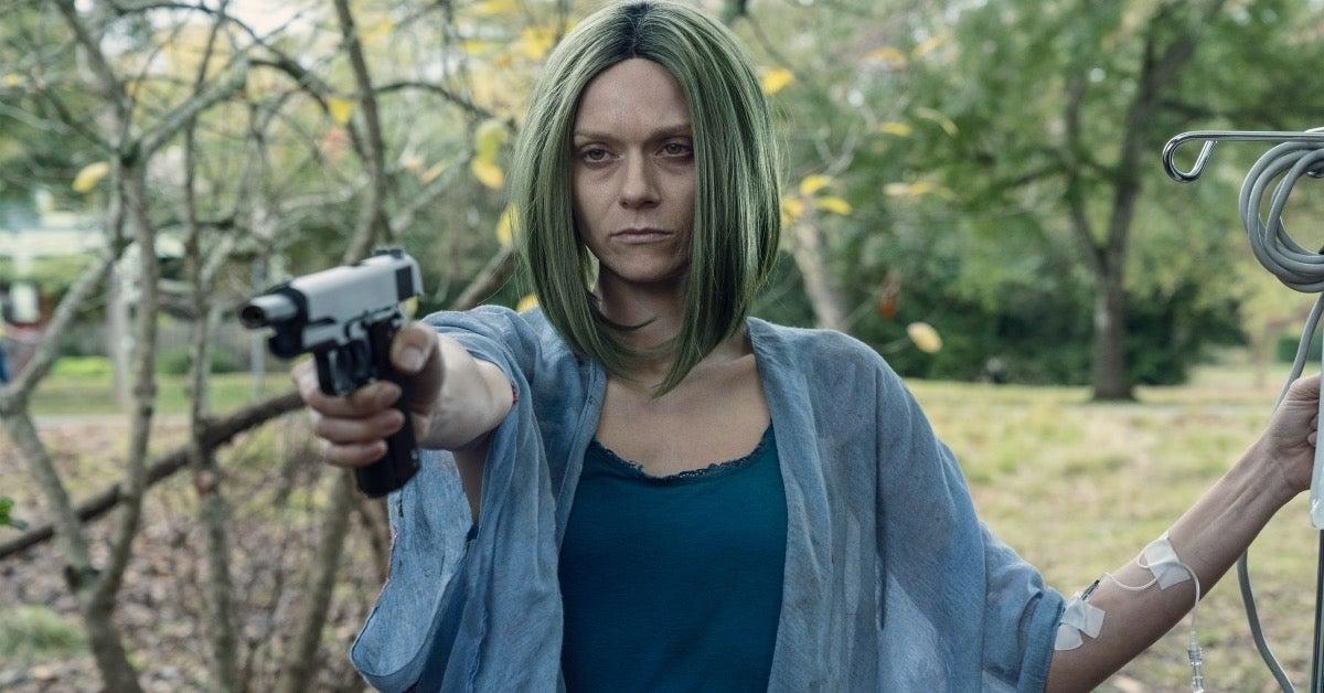 The Walking Dead Hilarie Burton Morgan Lucille Here's Negan