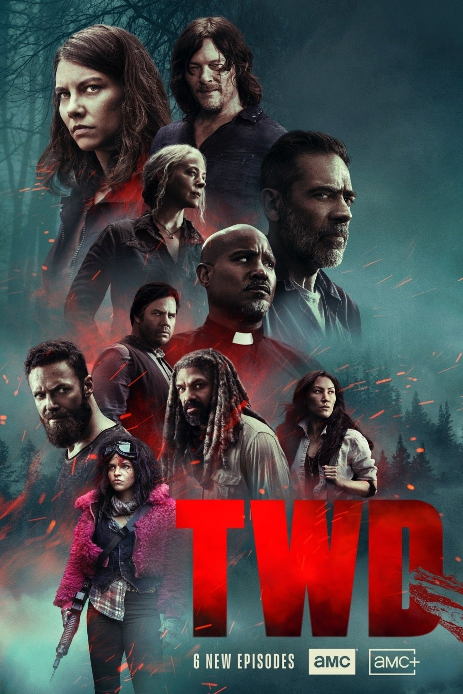 The Walking Dead Season 10 New Episodes poster 10C