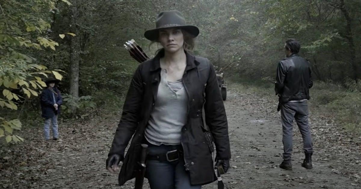 The Walking Dead Season 10C Negan Maggie