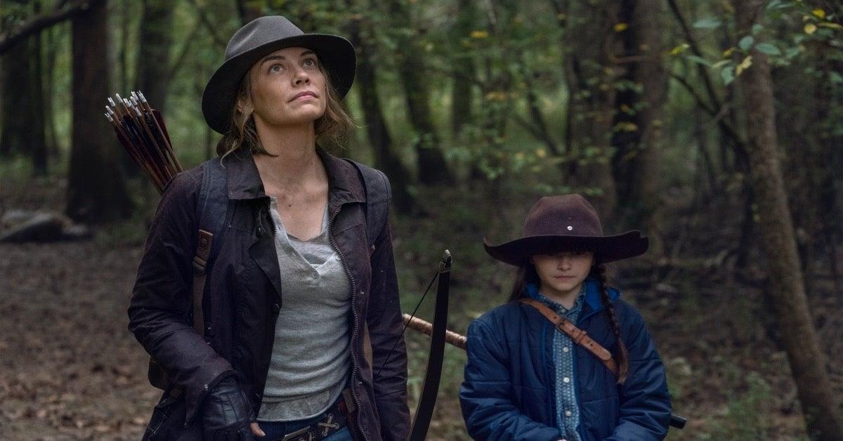 The Walking Dead Season 10C Premiere Maggie Judith