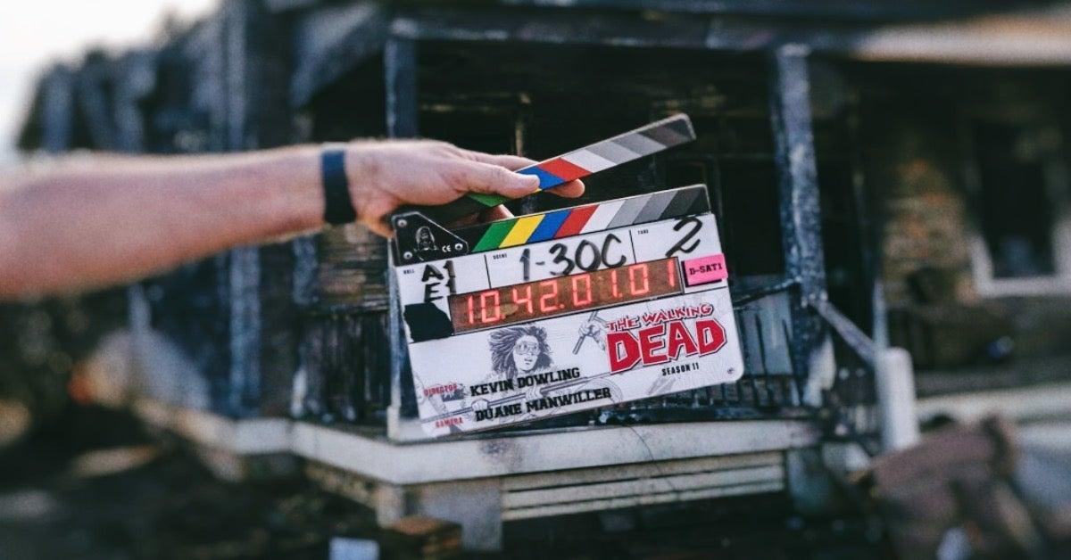 The Walking Dead Season 11 set photo