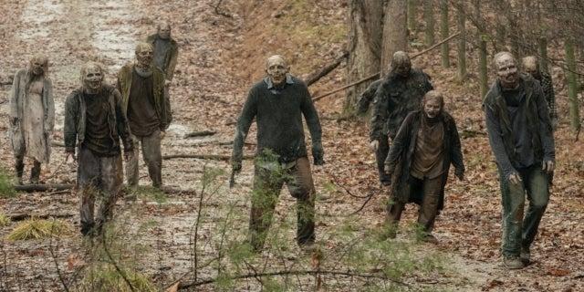 The Walking Dead World Beyond zombies walkers