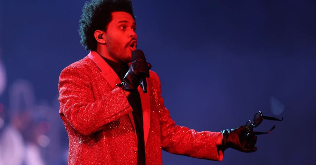 the weeknd super bowl getty images