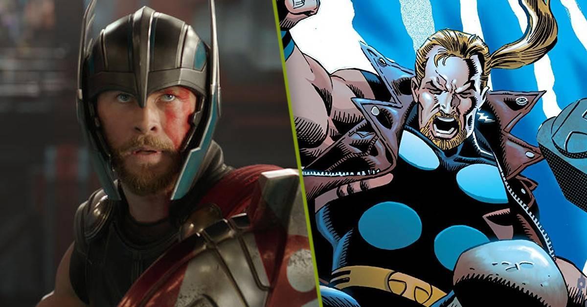 Thor Love and Thunder Thunderstrike