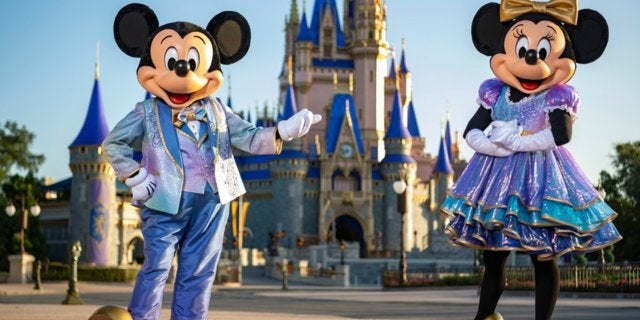 walt disney world 50th anniversary mickey mouse minnie