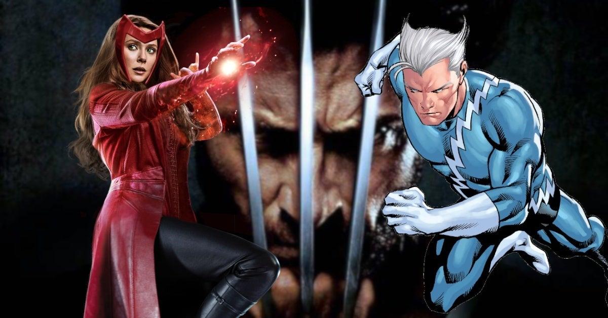 WandaVision Evan Peters Quicksilver Costume Wolverine Easter Egg