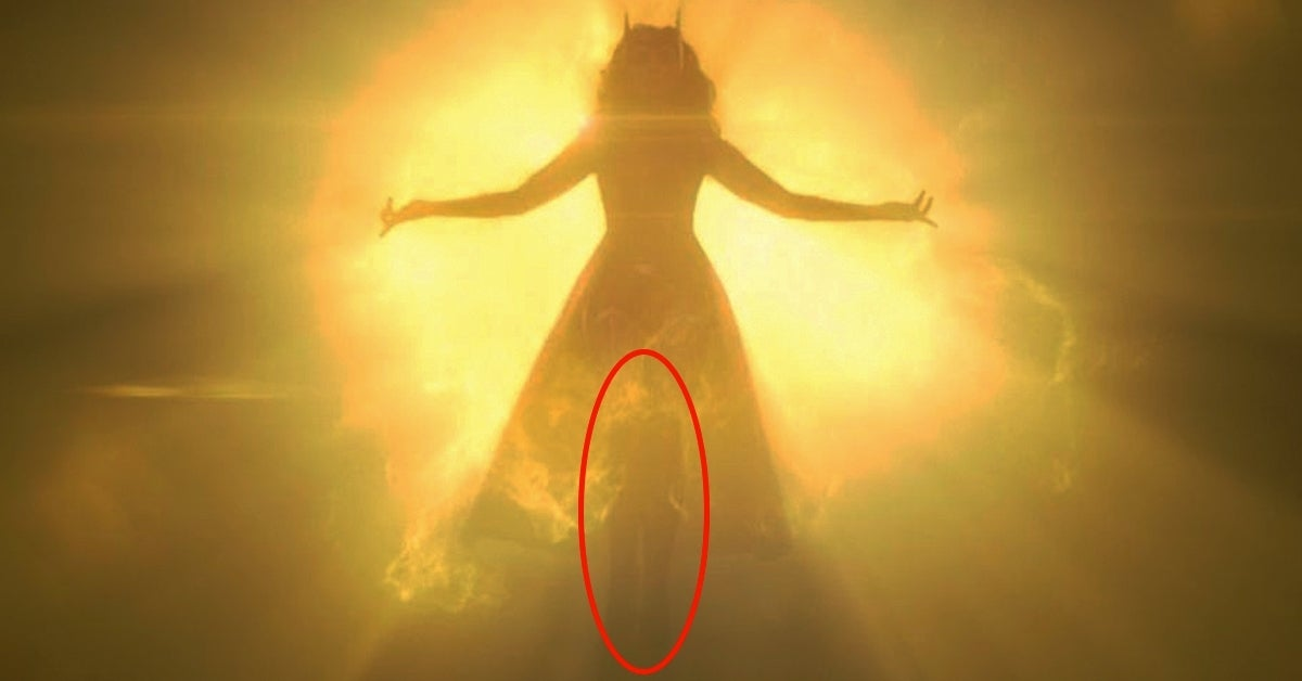 wandavision scarlet witch costume hidden person