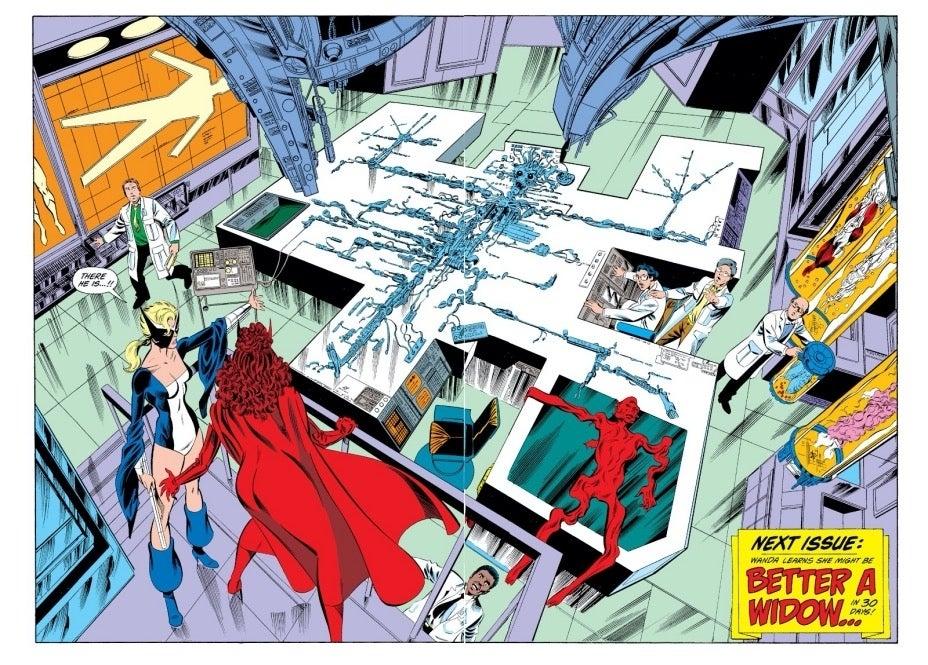 West Coast Avengers 43 Wanda Vision