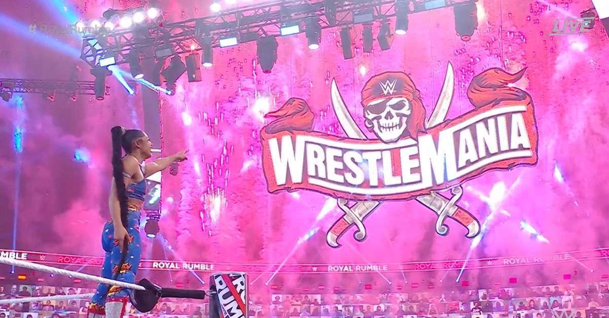 WWE Bianca Belair Royal Rumble Winner