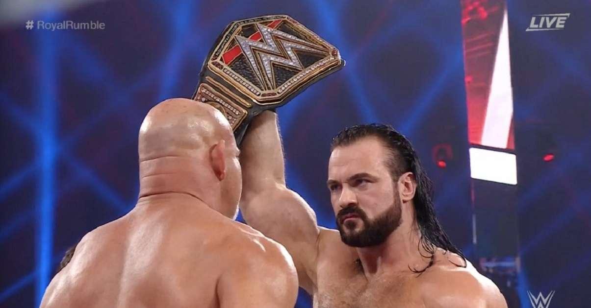 WWE Mcintyre Goldberg