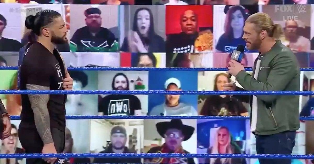 WWE-SmackDown-Edge-Roman-Reigns-Sami-Zayn