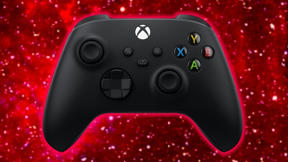 xbox series x space red controller