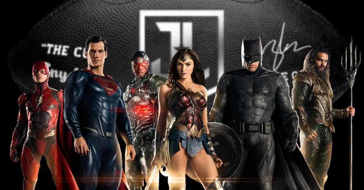 Zack Snyder Justice League Snyder Cut Mini Footballs On Sale