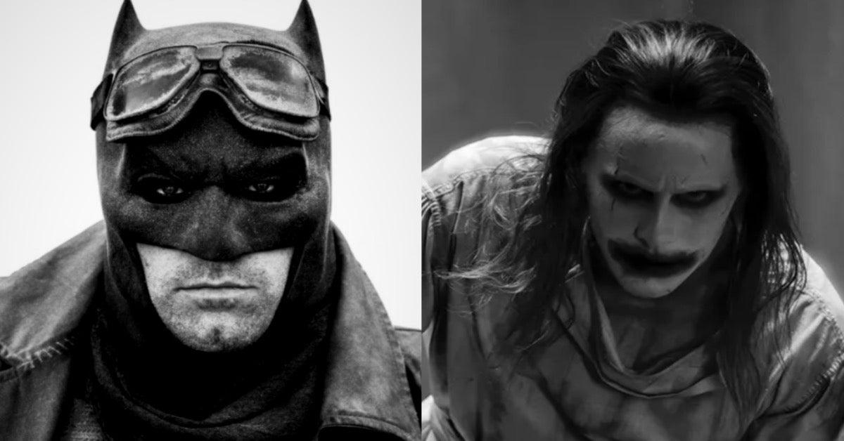 Zack Snyder's Justice League Batman Joker