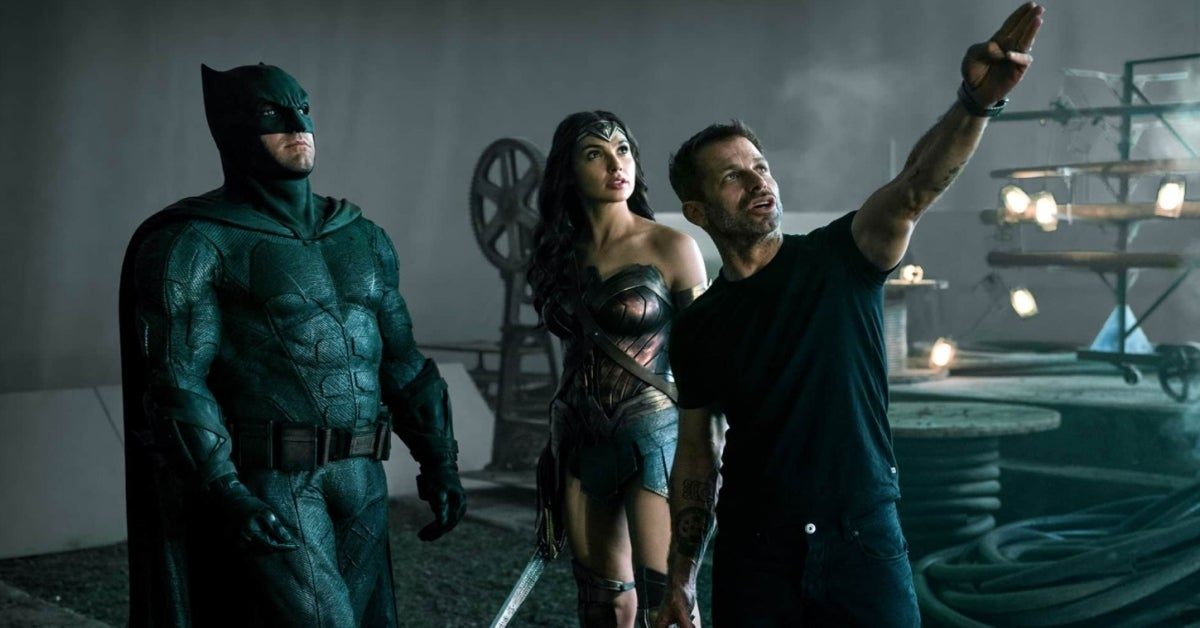 Zack Snyder's Justice League Batman Wonder Woman