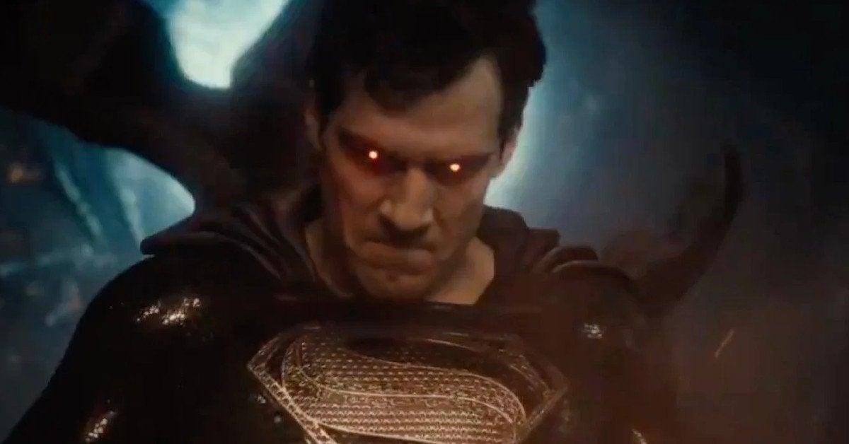 Zack Snyder's Justice League Superman Black Suit Explanation