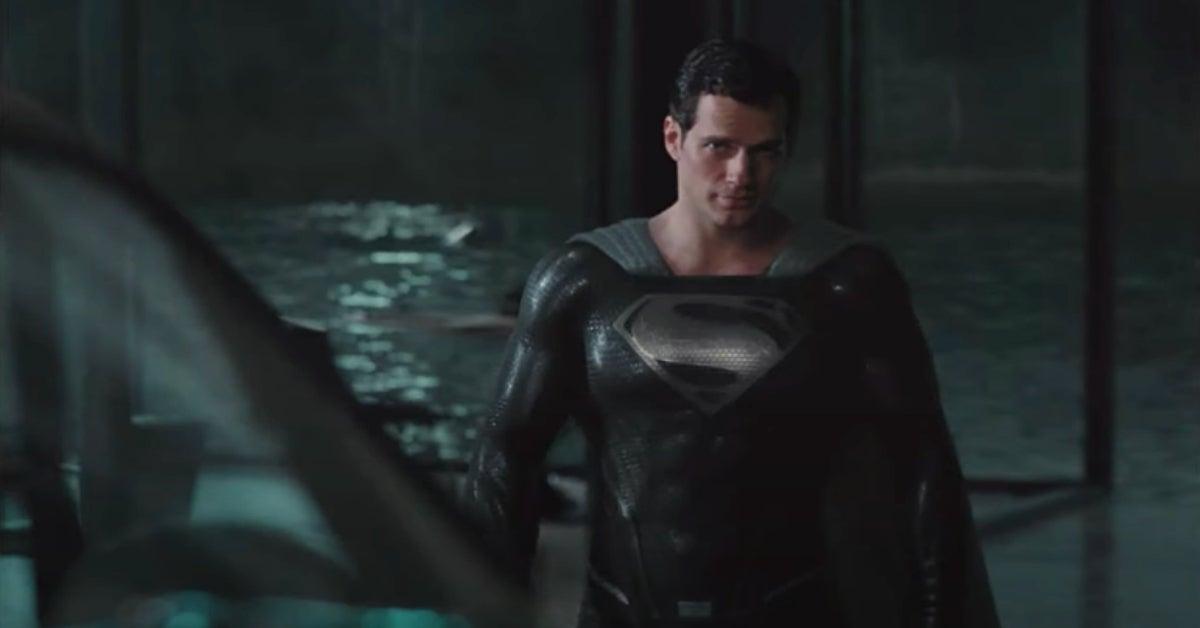 Zack Snyders Justice League Black Suit Superman Henry Cavill