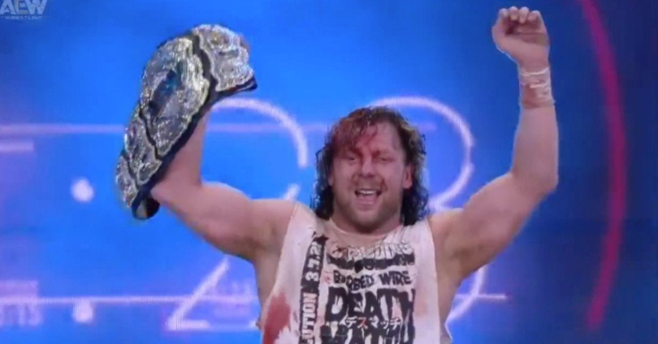 AEW Revolution: Kenny Omega Defeats Jon Moxley in an Exploding Barbed Wire  Deathmatch