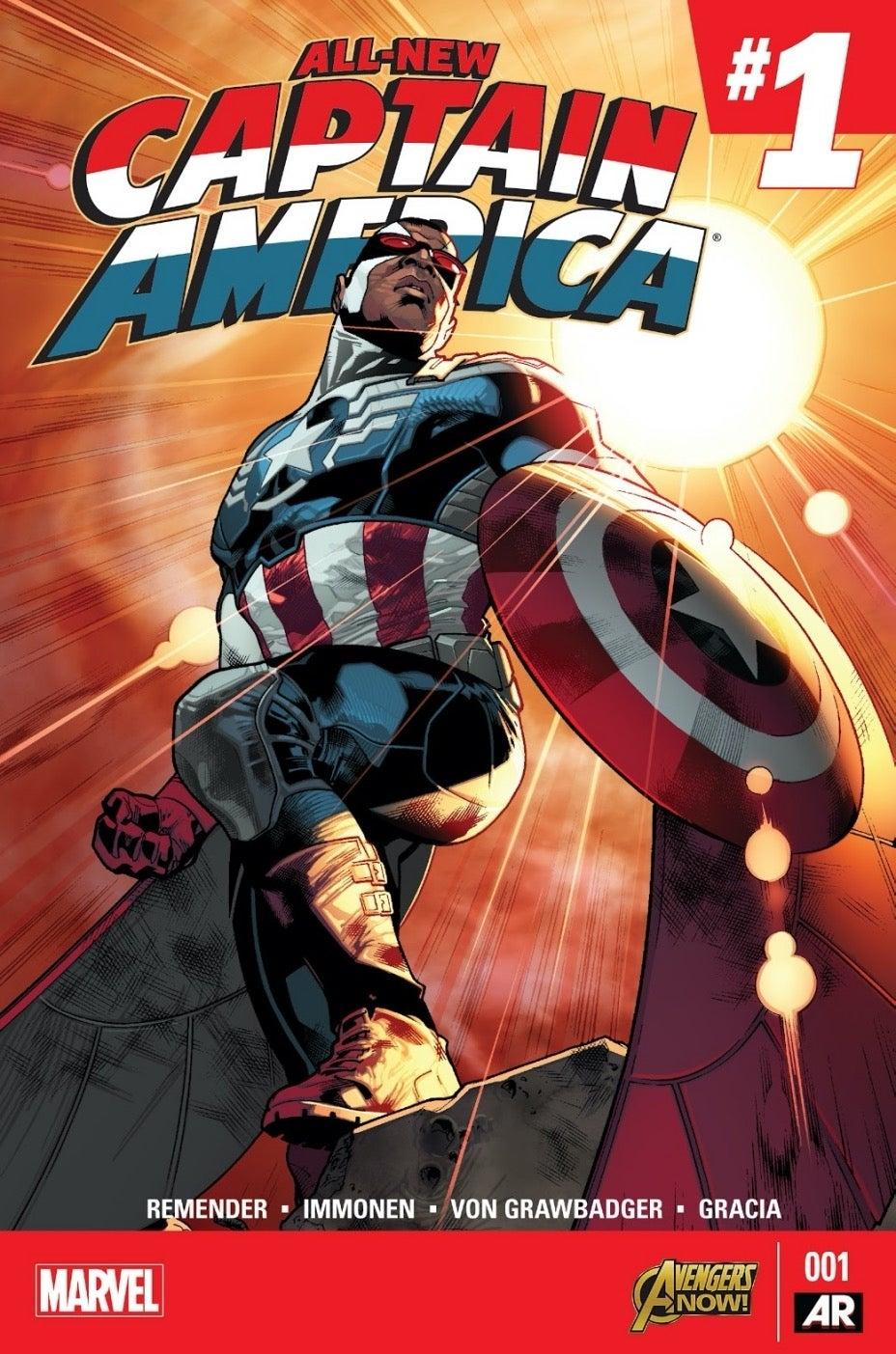 All New Captain America #1_cover