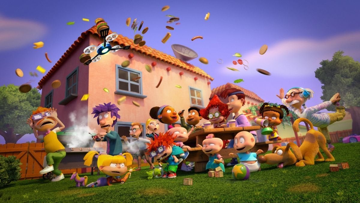 all new rugrats paramount plus