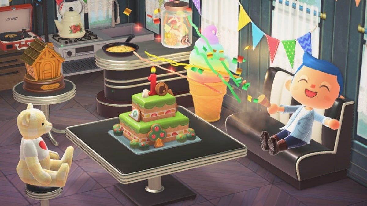 animal crossing new horizons anniversary cake new cropped hed