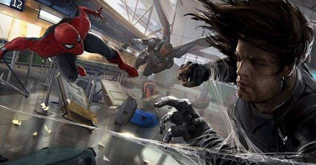 Anthony Mackie Falcon Winter Soldier vs Tom Holland Spider-Man Movies Box Office