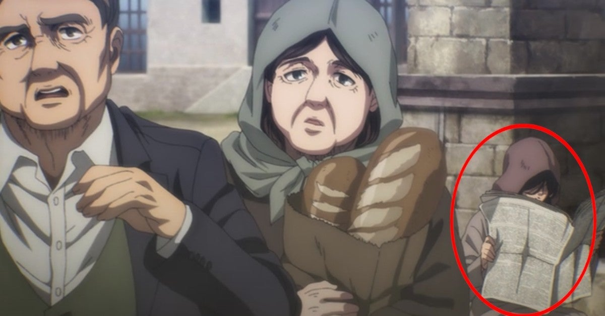 Atttack On Titan Anime Episode 71 Pieck Infiltrates Paradis Island Spy