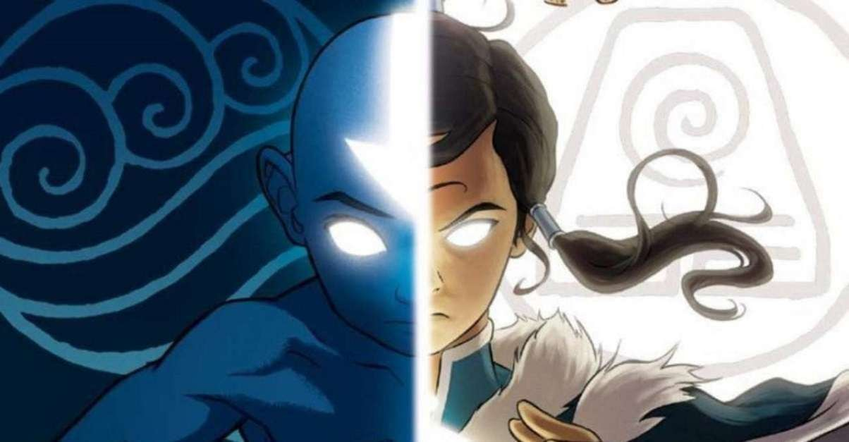 Avatar Airbender Legend of Korra Paramount