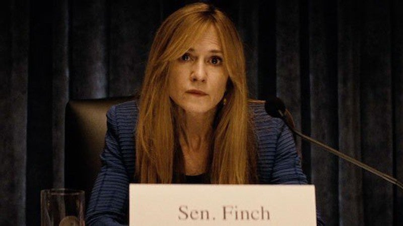 Batman v Superman Holly Hunter Senator Finch