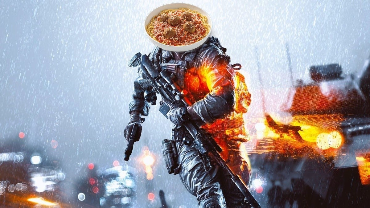 battlefield spaghetti and meatballs