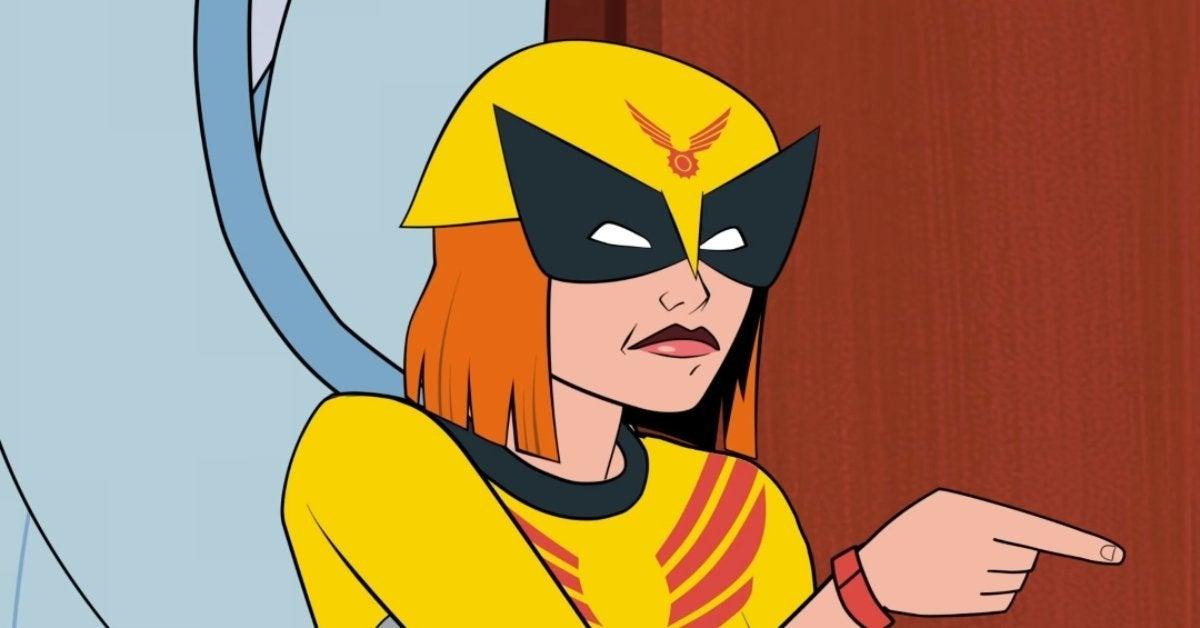 Birdgirl Harvey Birdman Spin-Off Adult Swim