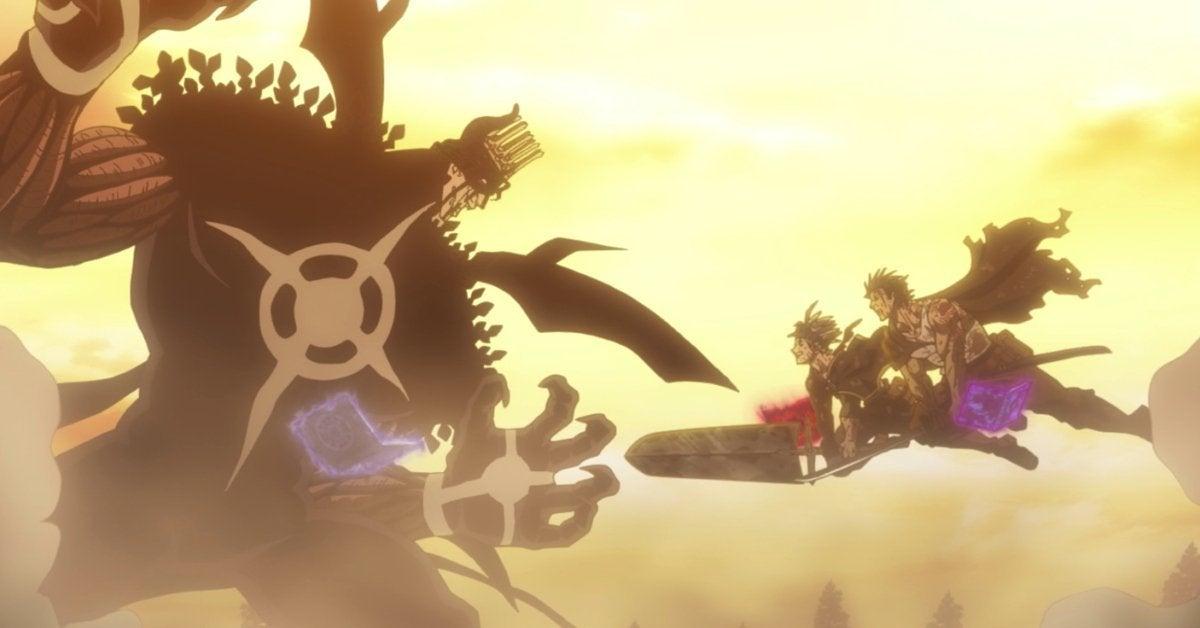 Black Clover Asta Yami Dante Fight