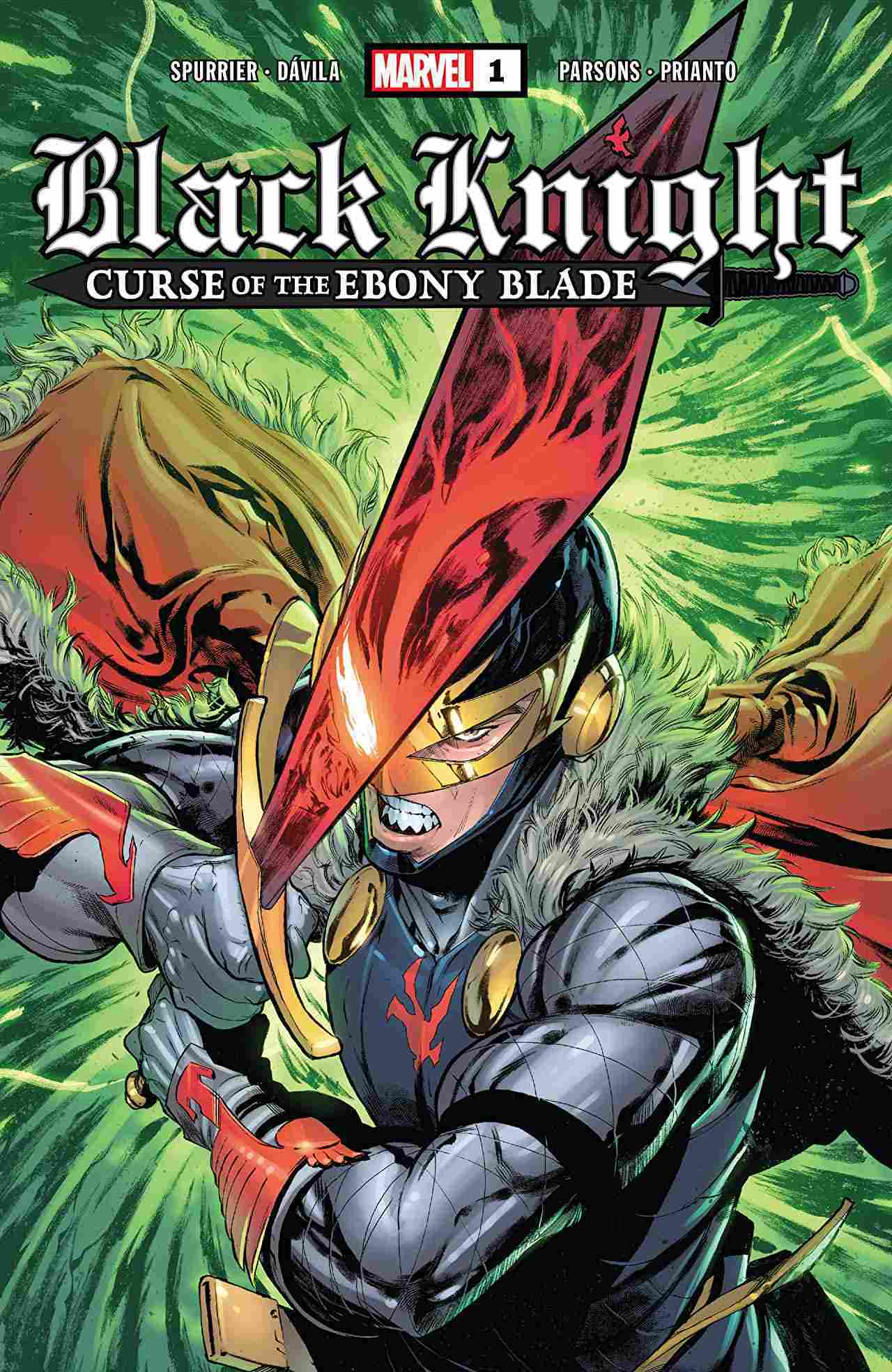 Black Knight Curse of the Ebony Blade #1