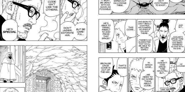 Boruto 56 Spoilers Naruto Bonding Ten Tails Theory