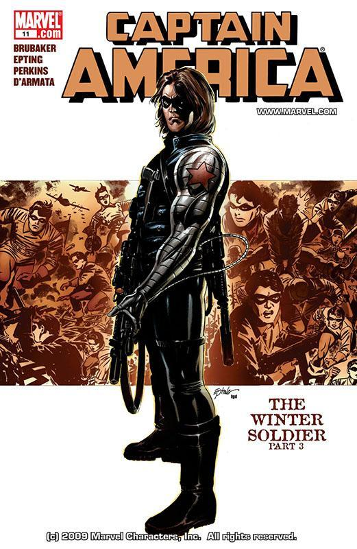 captain america the winter soldier marvel