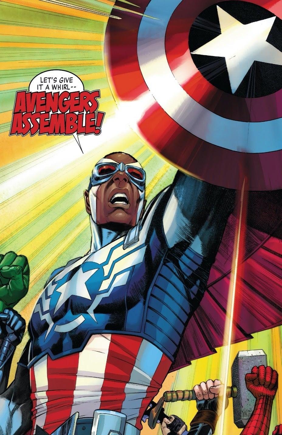 Captain America Vol 7 25 assemble