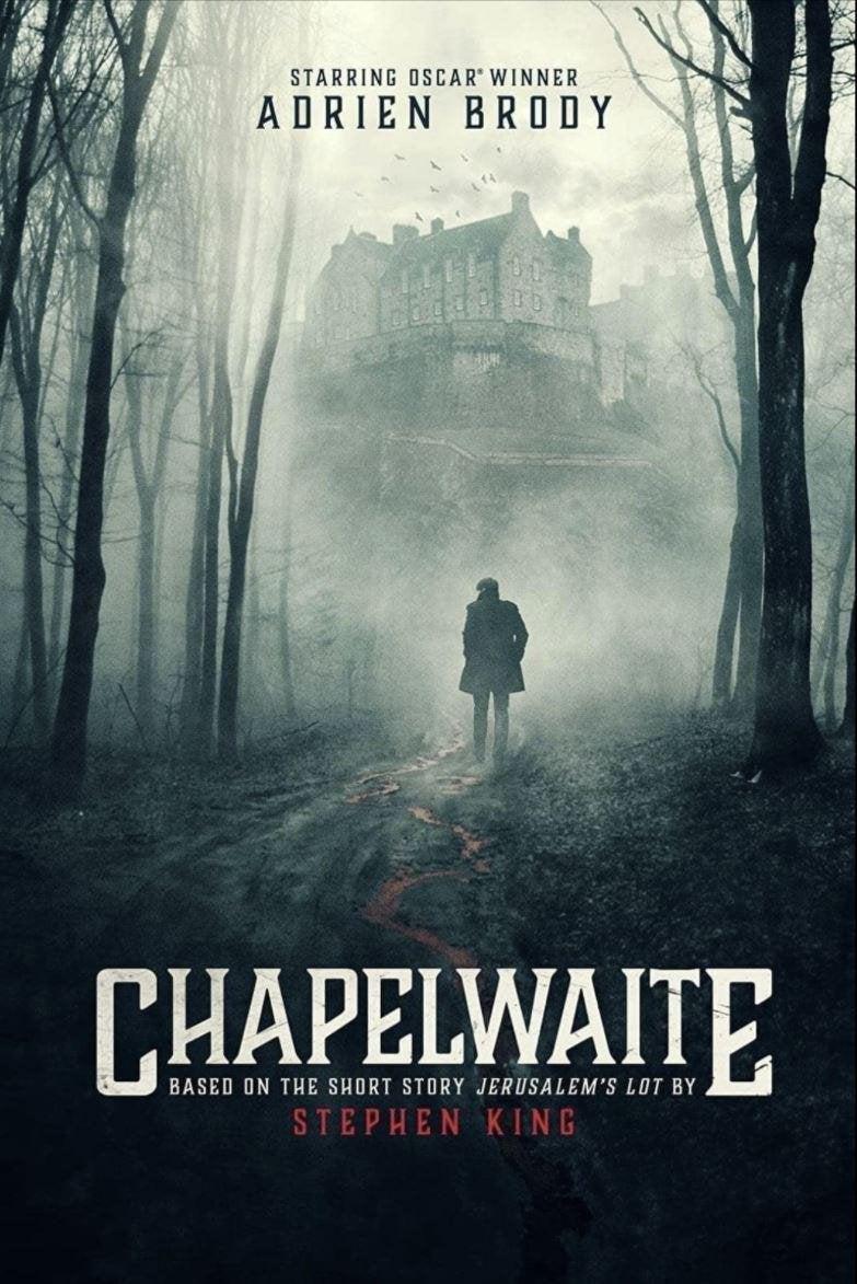 chapelwaite tv series poster stephen king