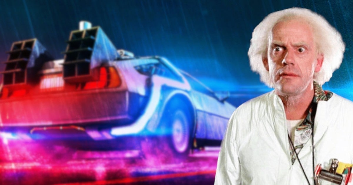 Christopher Lloy Expedition Back to the Future Discover Plus