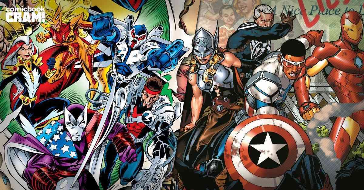 CRAM FWS - avengers comics