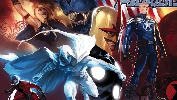 cram secret avengers comics