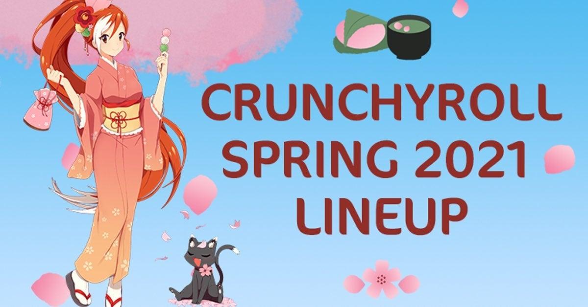 crunchyroll spring line up