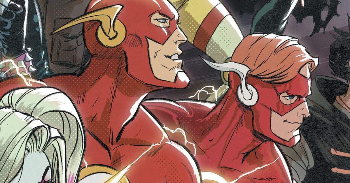 dc comics new flash infinite frontier