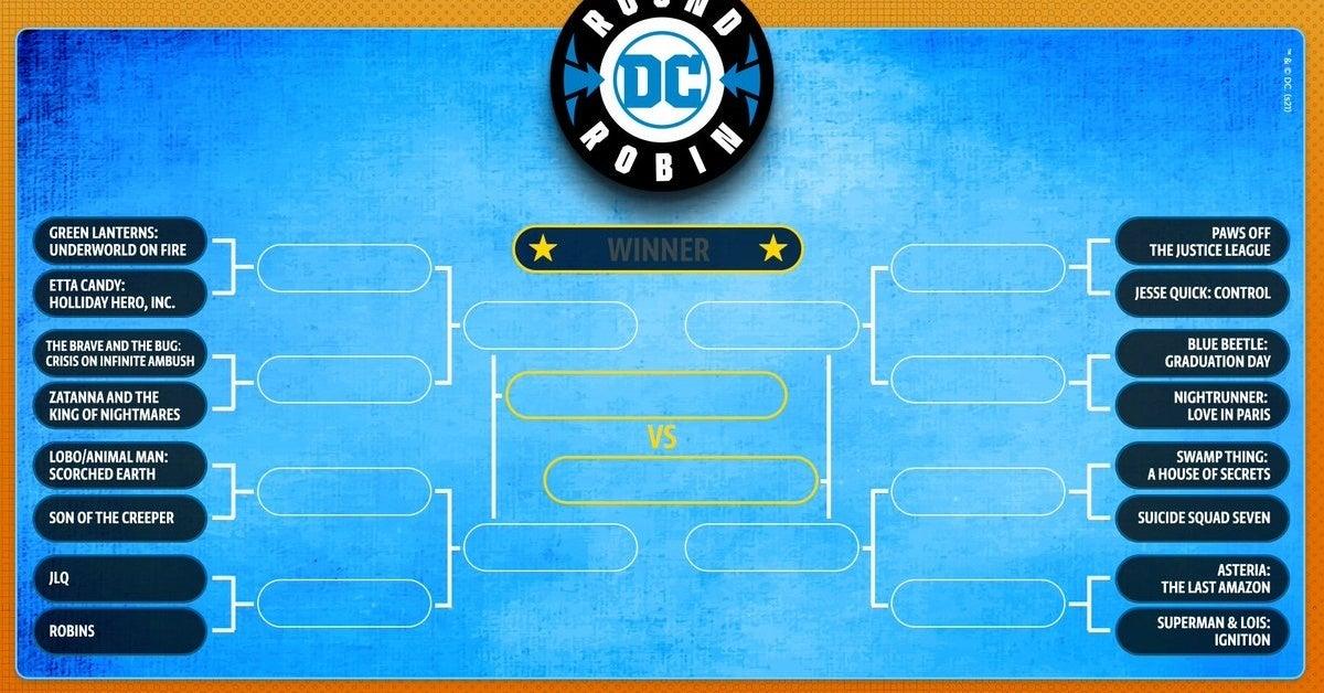 dc comics round robin 2021 bracket