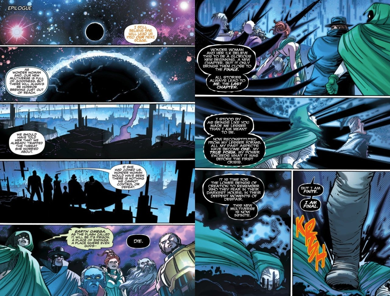 DC Infinite Frontier Spoilers The Quintessence Death Killed Darkseid