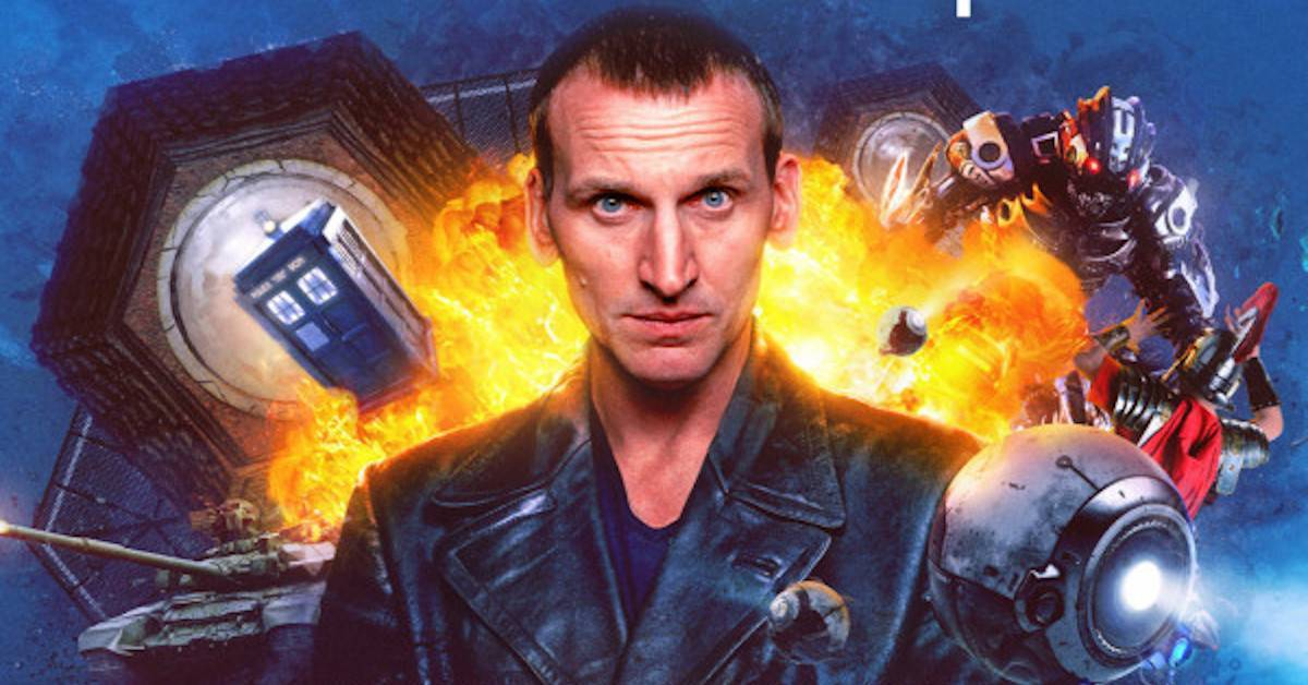 Doctor Who Ninth Doctor Adventures Ravagers Christopher Eccleston