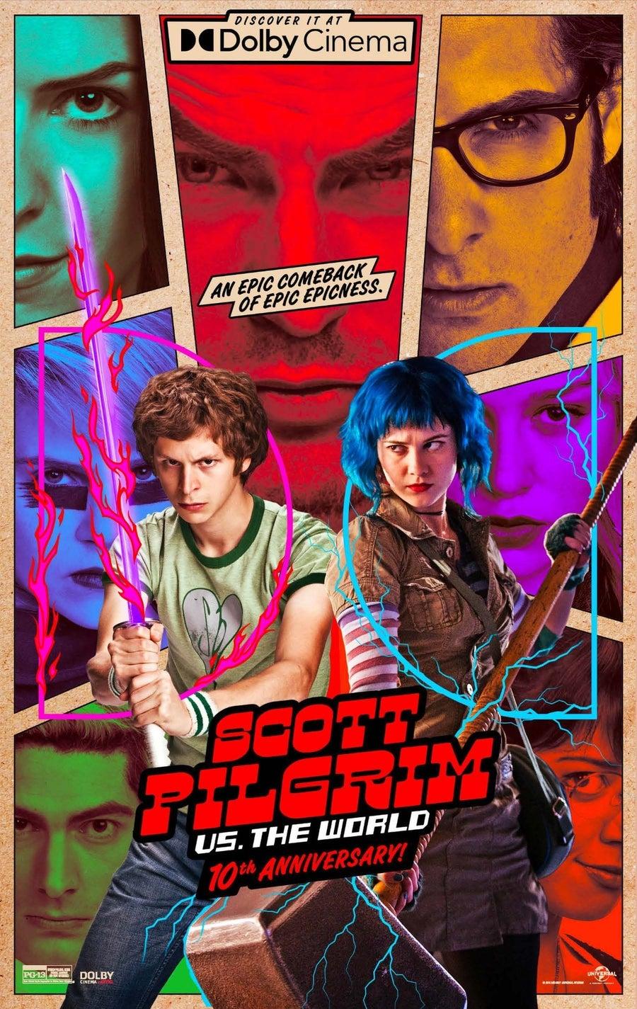 Dolby Cinema One Sheet - Scott Pilgrim vs. The World