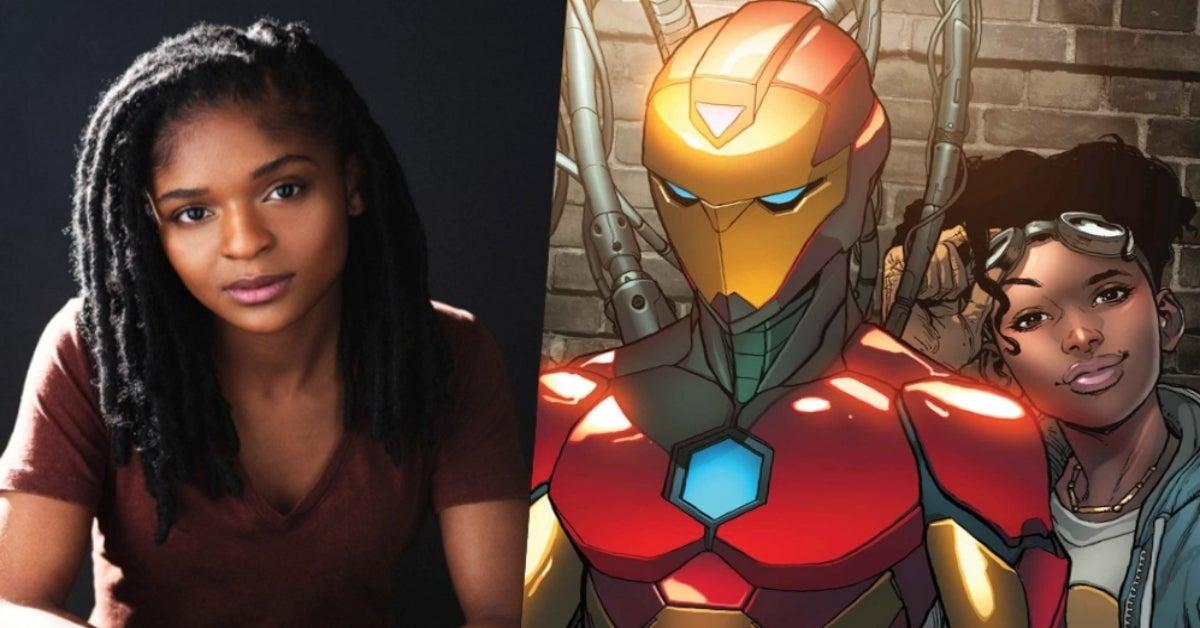 Dominique Thorne Riri Williams Ironheart