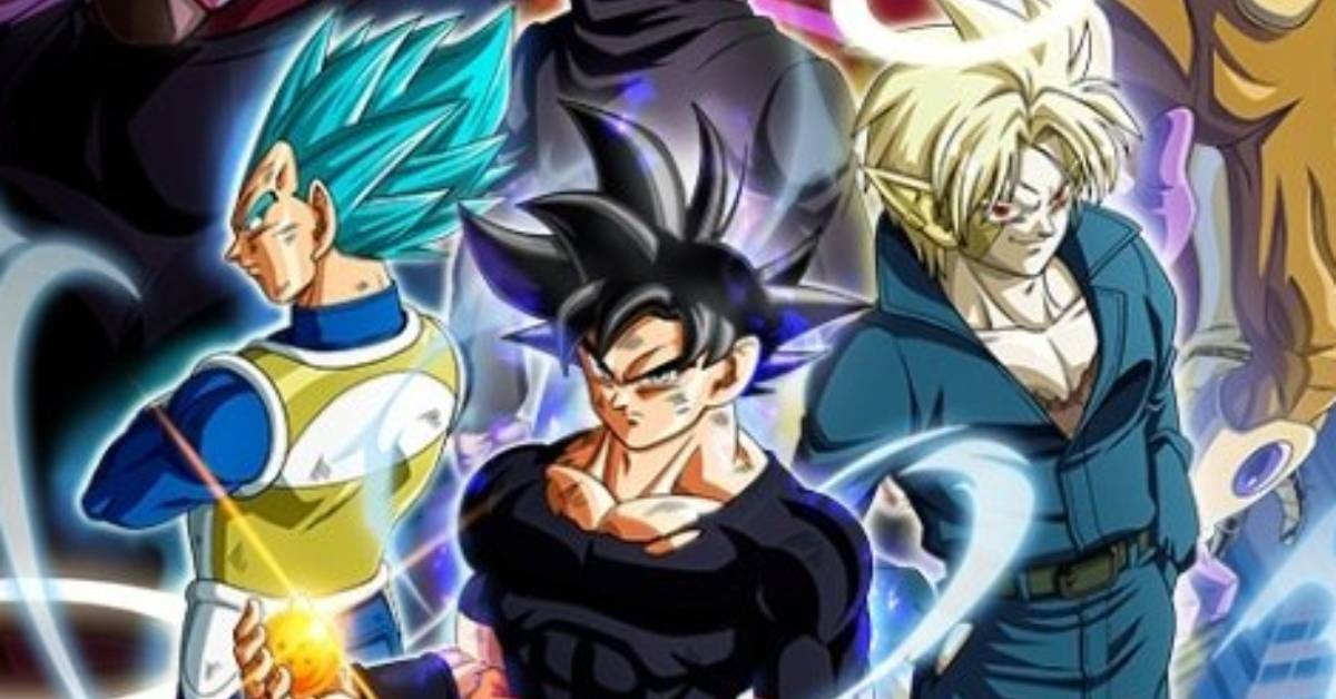 Dragon Ball Heroes New Space-Time War Arc Poster
